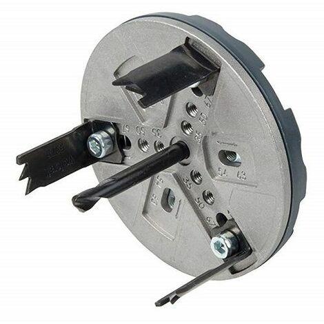 Wolfcraft Trépan réglable pour installations sanitaires, 30 mm - 5984000