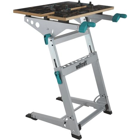 wolfcraft Workbench with Vise Master 700 6908000 - Silver
