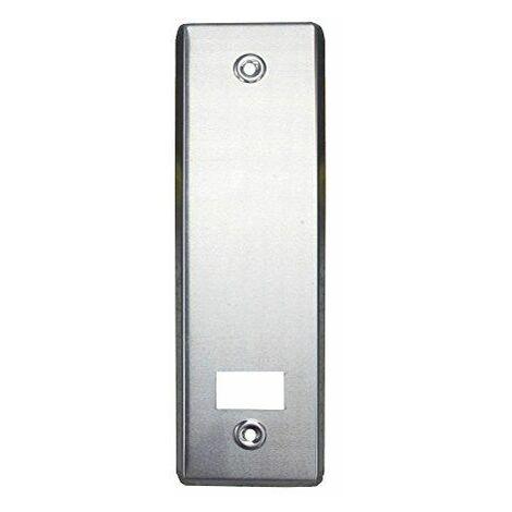 Wolfpack 05250016-Plaque aluminium pour mécanisme enrouleur de store