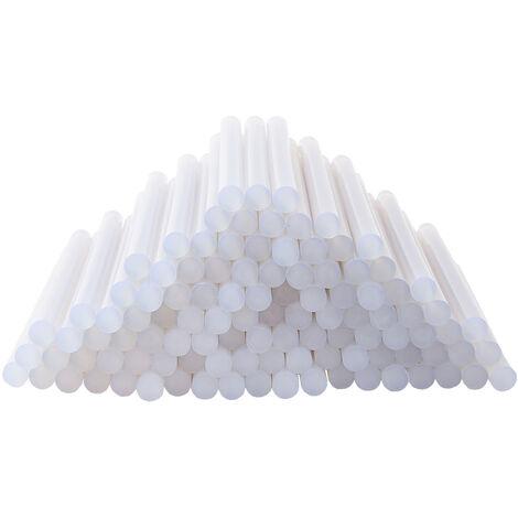 Wolketon Heißkleber 5 KG Ø11mm Klebesticks 275 Stück Heißklebestifte 11mm x 200mm Klebepatronen für Heißklebepistolen