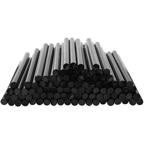 Wolketon Schwarz Heißkleber 10 KG Ø11mm Klebesticks 550 Stück Heißklebestifte 11mm x 200mm Klebepatronen für Heißklebepistolen
