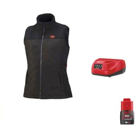 Women's Milwaukee Sleeveless Jacket M12 HBWPLadies-0 Size M 4933464804 - Battery Charger 12V M12 C12 C - Battery M12