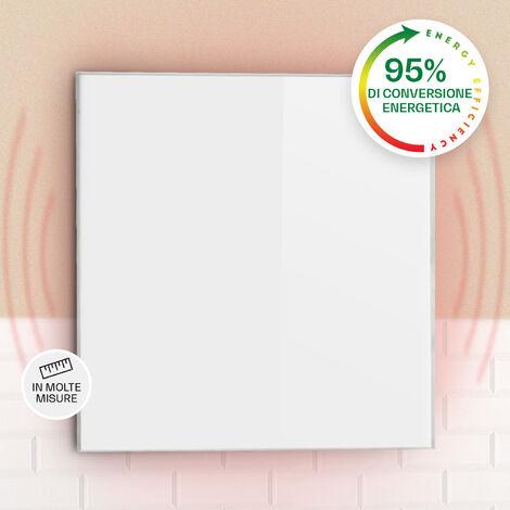 "main image of ""Wonderwall 36 Radiatore a Infrarossi 60 x 60 cm 360W Timer Settimanale IP24 Bianco"""