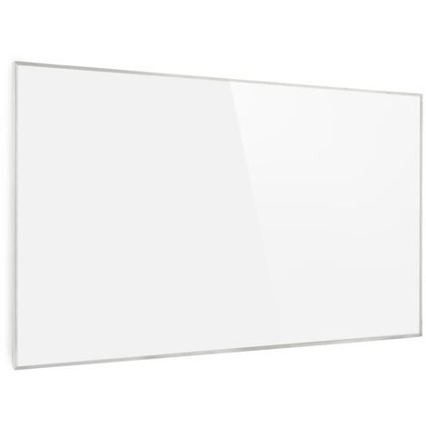 Wonderwall 45 Radiateur infrarouge 50x90 cm 450 W minuterie hebdomadaire IP24 blanc
