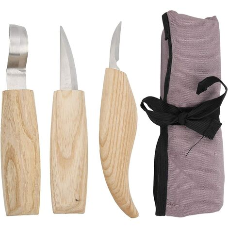 """main image of """"Wood Carving Tools, Whittling Knife Kit, Manual Woodworking Tools, Knife & agrave; Carving Wood to Carve, Cut and Carve Wood"""""""