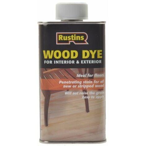 "main image of ""Wood Dye Red Mahogany 250ml RUSWDRM250"""