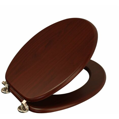 """Wood Effect """"Oxford"""" Toilet Seat"""