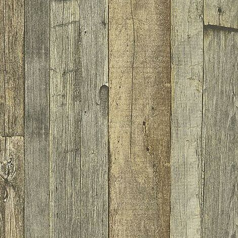 Wood Effect Wallpaper AS Creation Rustic Panel Paste The Wall Vinyl