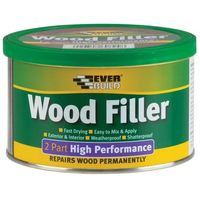 Wood Filler, 2 Part High Performance