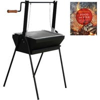 Wood Fired Assador BBQ Grill 70cm for Argentino Style Outdoor Cooking