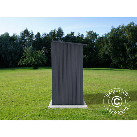 Wood Storage 2.42x0.89x1.56 m ProShed®, Anthracite