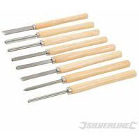 Wood Turning Chisel Set 8pce - 8pce (303159)