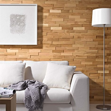 Wood Wall Paneling Oiled Oak Wooden Wall Panel Wood Siding 200mm
