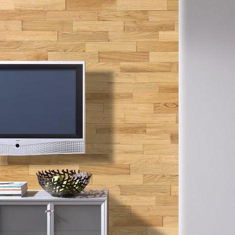 Wood Wall Paneling Oiled Oak Wooden Wall Panel Wood Siding 400mm