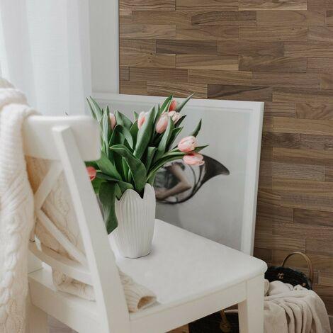 Wood Wall Paneling Walnut Wooden Wall Panel Wood Siding 200mm