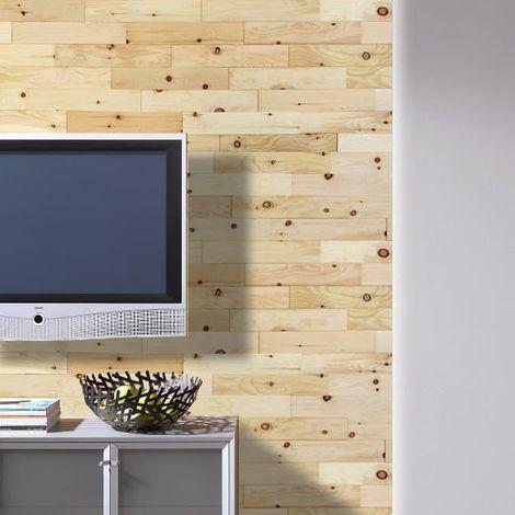 Wood Wall Paneling Zirb Wooden Wall Panel Wood Siding 400mm