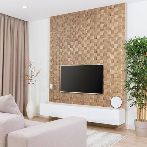 Wood Wallcovering Dominus Decorative Wood Panel Wooden Wall Cladding 1m²