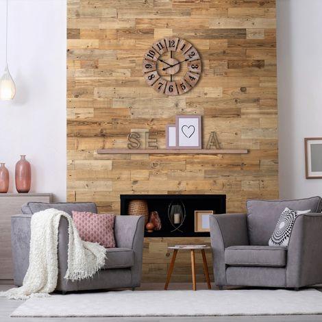 Wood Wallcovering Natural Wood Decorative Wood Panel Wooden Wall Cladding 1m²