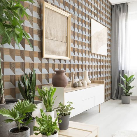 Wood Wallcovering Pictus Decorative Wood Panel Wooden Wall Cladding 1m²