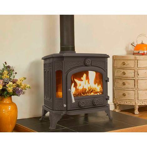 Woodburner Stove 12.8KW TR-C12 Black