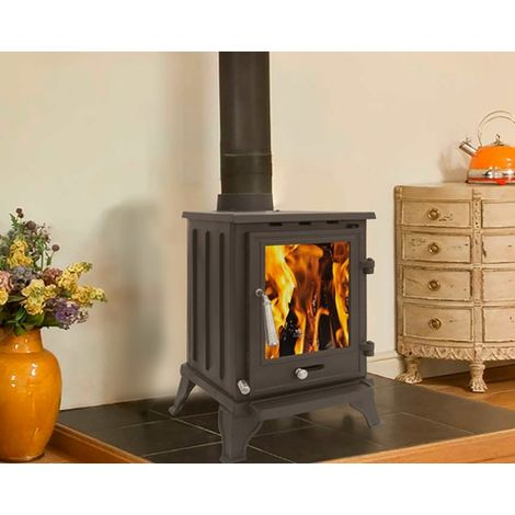 Woodburner Stove 5KW CR-A5 Black