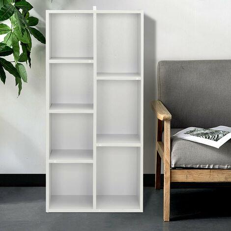 Wooden 5/7 Grid Storage Shelf CD Bookcase Shelf Unit Organiser Home Furniture