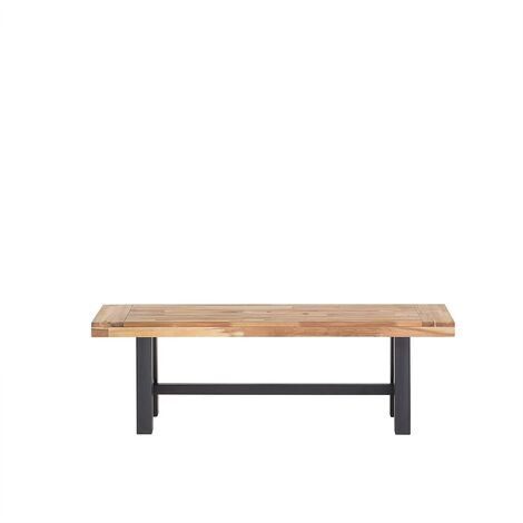 Wooden Bench Black SCANIA