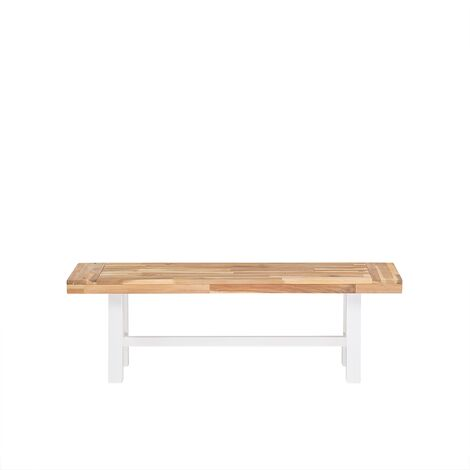 Wooden Bench White SCANIA