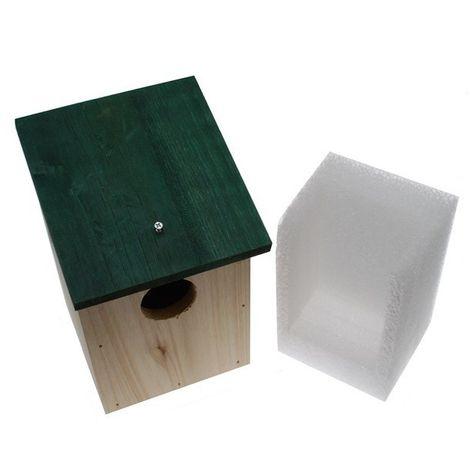 Wooden Bird-box for the Dakota DCMT-2500E Wireless PIR [004-0680]
