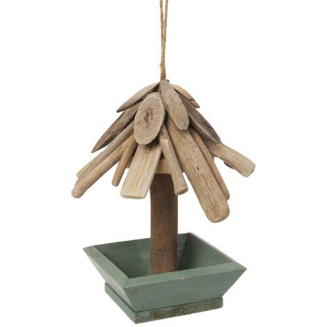 Wooden Bird Feeder 25cm