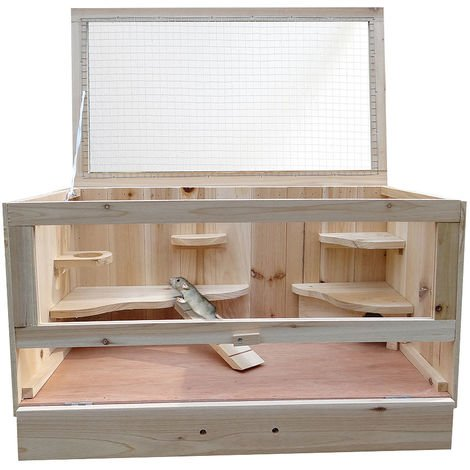 wooden cage hamster cage mouse cage rat cage rodent stable enclosure WOW