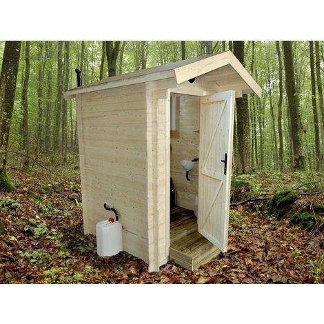 Wooden Composting Eco Toilet Glamping Allotment Rural Fertilizer Compost Air Ventilation