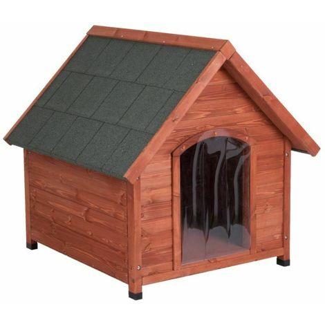 Wooden doghouse B 112 x T 102 x H 107 cm