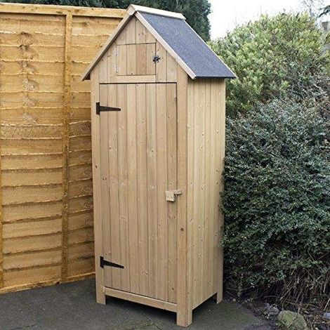 Large Wooden Garden Shed Outdoor Patio