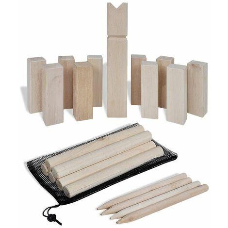 Wooden Kubb Game Set QAH32122