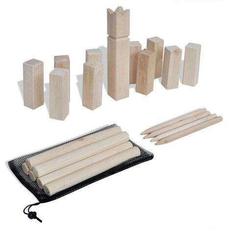 Wooden Kubb Game Set VD32122