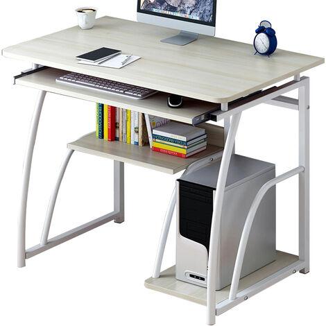 Wooden laptop desk table 70x40x71CM