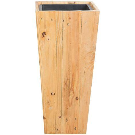 Wooden Plant Pot 28 x 28 x 60 cm LARISA