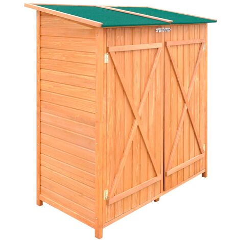 Wooden Shed Garden Tool Shed Storage Room Large QAH06903
