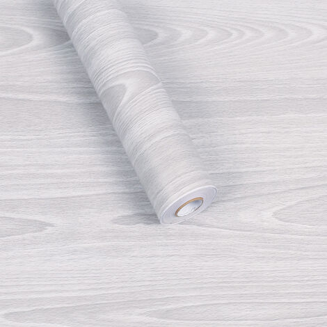 Wooden wallpaper, wooden stickers, PVC wallpaper Self-adhesive thick, wallpaper 45cm × 10m