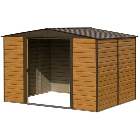 Woodvale Metal Shed 10X12