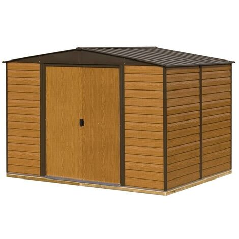 Woodvale Metal Shed 10X12 with Floor
