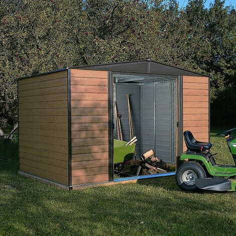 Woodvale Metal Shed 10X6