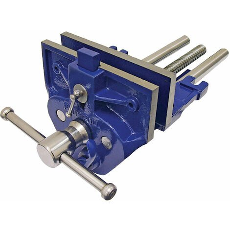 Woodwork Vice with Quick-Release & Dog