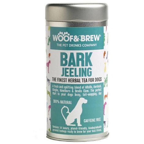 Woof & Brew Barkjeeling Tin Herbal Tea For Dogs (150g) (May Vary)