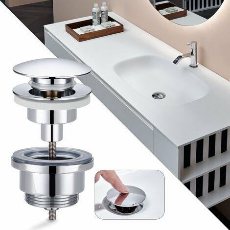 2 Pezzi 70 Mm Tappo Copri Scarico Click Clack Per Lavandini E Vasche Da Bagno Accessori Per La Vasca Casa E Cucina Aaaid Org