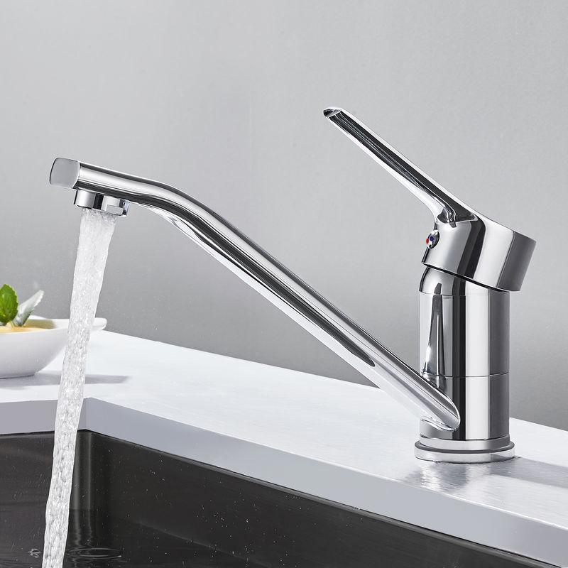 Küchenarmatur Spültischarmatur Mischbatterie 360° Wasserhahn Küche Bad Einhebel