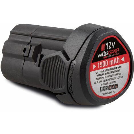Worgrip pro tools bateria recambio 12v 1,5AH