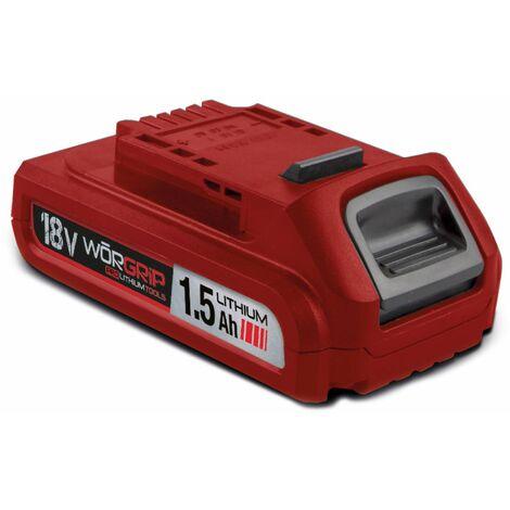 Worgrip pro tools bateria recambio 18v 1,5AH