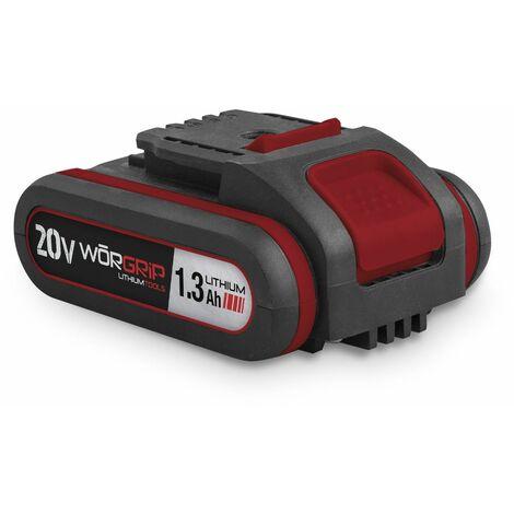Worgrip pro tools bateria recambio 20v 1,3AH